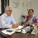 Reunião discute estratégias para fortalecimento do Projeto Vizinhança