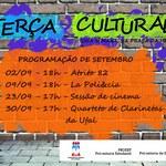 Terça Cultural traz música e cinema em setembro