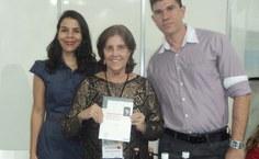 Carol Almeida, Stela Lameiras e Sebastião Medeiros