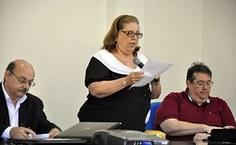 A professora Silvana Quintella, coordenadora do programa de pós-graduação em Geografia, falou sobre o curso