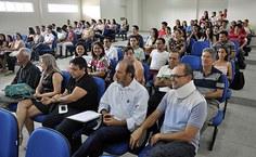 Estudantes, professores e servidores do Igdema estiveram presentes na aula inaugural