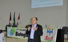 Professor João Batista Calixto, da Federal de Santa Catarina, fez reflexões sobre a carreira acadêmica e empreendedorismo