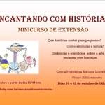 Projeto Biblioencanta promove minicurso Encantando com Histórias