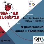Projeto Mora na Filosofia promove palestra sobre homoerotismo antigo e modernidade