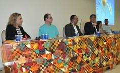 Pró-reitor de Extensão, Eduardo Lyra, representou o reitor na abertura do evento