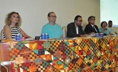 Professora Elza Maria também prestigiou a abertura da 3ª Semana Internacional de Pedagogia