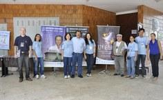 Representantes da comissão organizadora
