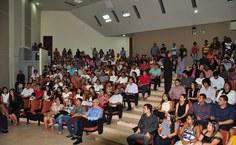 Cerimônia lotou Auditório da Reitoria