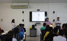 Palestra contou com a participação do professor Luciano Barbosa