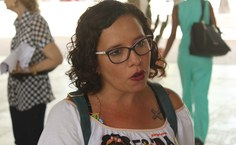 Professora Andrea Pacheco, do grupo de pesquisa Frida Kahlo
