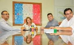 Ufal e Governo do Estado em reunião para estabelecer agenda de parceria junto ao MEC