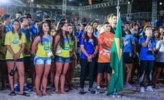 Abertura do evento foi na arena montada na praia de Pajuçara