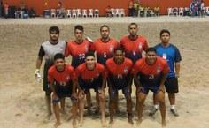 Equipe masculina de Beach Soccer da Ufal