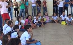Alunos das escolas públicas participam de atividades