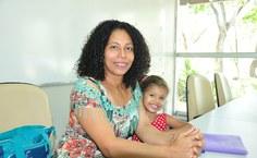 Sandra Soares, estudante de Pegogia, também regularizou pendências