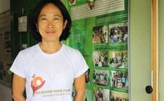 Professora Leiko Assakura da Fanut colaboradora do projeto