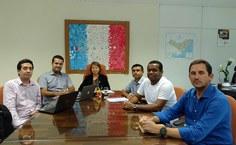 Reunião da reitora com representantes da Cice e da Sinfra