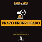 Pinacoteca Universitária prorroga o prazo para submissão pelo edital de  Exposições 2018