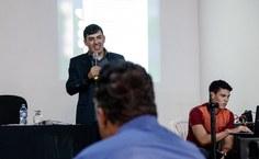 Mac-Dawison Buarque, organizador do evento. Foto: Fernando Brandão.jpeg