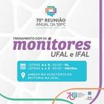 Comissão da SBPC Alagoas marca treinamento de monitores