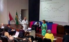A reitora da Ufal, Valéria Correia, falou sobre a limitação orçamentária enfrentada pelas universidades e pelos serviços públicos de saúde.jpeg