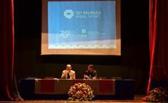 Professor Flávio Brayner abordou a importância da educação para a manutenção da democracia brasileira.JPG