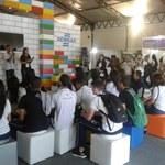 Alunos da rede pública dão palestra na SBPC Jovem