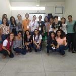 Estudantes de nível básico palestram para graduandos na SBPC Jovem