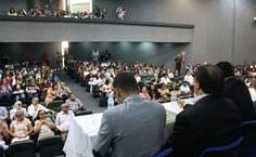 Auditório lotado para abertura da SBPC Educação na Ufal Campus do Sertão