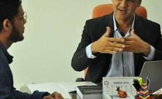 Vieira ressaltou a importância de se trazer a Reunião da SBPC para AL (Foto - Letícia Sant'Ana)