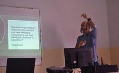 Professor Marconi Tabosa cita Paulo Freire em sua fala