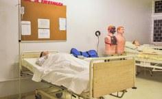 Laboratório de habilidades. Foto: Renner Boldrino