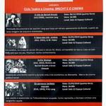 Cineclube Elinaldo Barros apresenta Brecht e o cinema