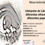Fale sedia mesa-redonda sobre a importância do intérprete de Libras