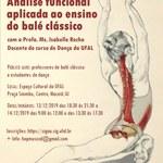 Estudo sobre a prática de balé é tema de minicurso