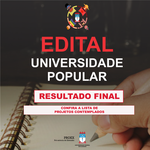 Proex divulga resultado final da seleção de projetos do Universidade Popular