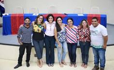 Equipe de extensão participou do fórum para as propostas do PDI. Foto: Thiago Prado