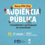 Audiência pública do PDI acontecerá na próxima sexta-feira
