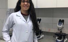 A estudante de Alexya, do curso de Medicina também é membro do grupo