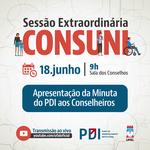 Sessão extraordinária do Consuni apresenta PDI 2019