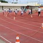 Festival de Atletismo promove atividades e interação entre alunos e crianças