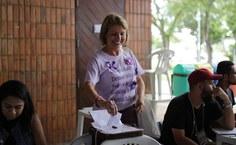 Candidata Valéria Correia, chapa 2