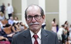 Rogério Pinheiro, reitor honorário da Ufal (Foto: Blenda Machado)