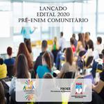 Conexões saberes lança edital do Pré-Enem Comunitário