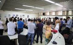 Participantes da cerimônia . Foto: Renner Boldrino