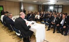 Cerimônia de posse concorrida com a presença de autoridades e representantes da sociedade alagoana e da comunidade acadêmica da Ufal
