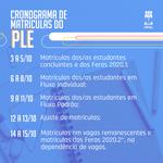 Coordenadores começam a lançar oferta acadêmica do PLE no sistema da Ufal