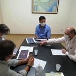 Reitorvisita senador Rodrigo Cunha e apresenta catálogo de projetos