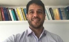 Professor Glauber Silva, do Instituto de Física. Foto Arquivo pessoal