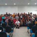 Estudantes participam de aperfeiçoamento na Língua Brasileira de Sinais